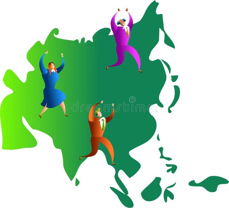 Personas asiáticas libre illustration