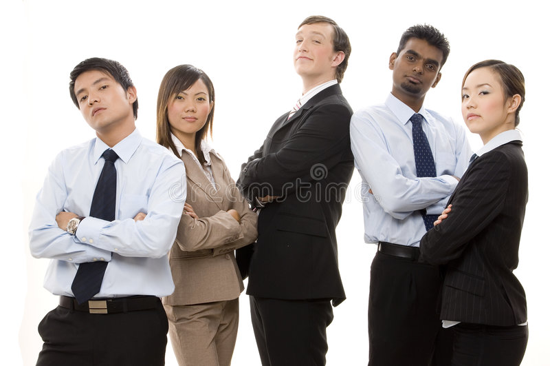 Personas confidentes 1 del asunto foto de archivo libre de regalías