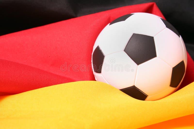 Personas de fútbol alemanas imagenes de archivo