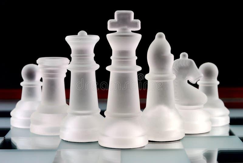 Personas del ajedrez foto de archivo libre de regalías