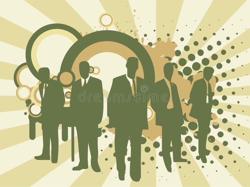 Personas del asunto ilustración del vector