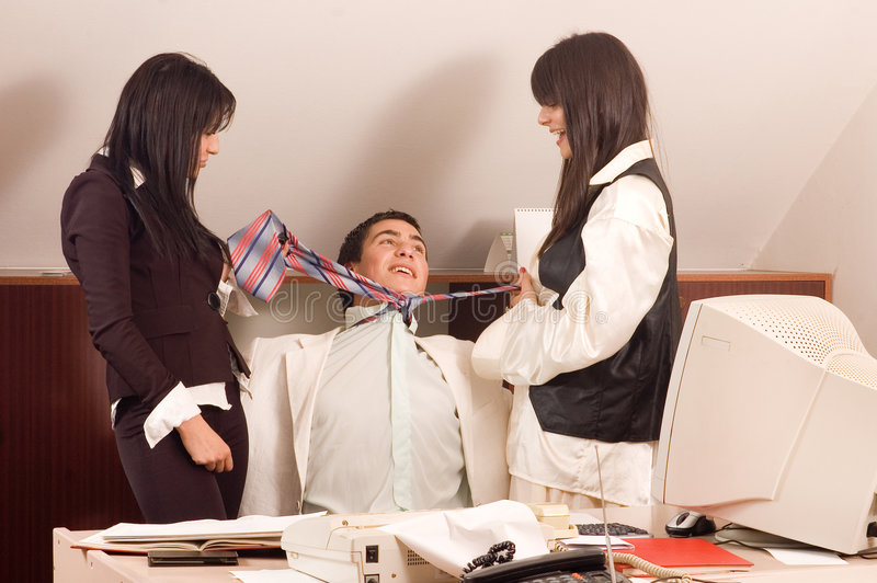 Personas del asunto en la oficina imagen de archivo