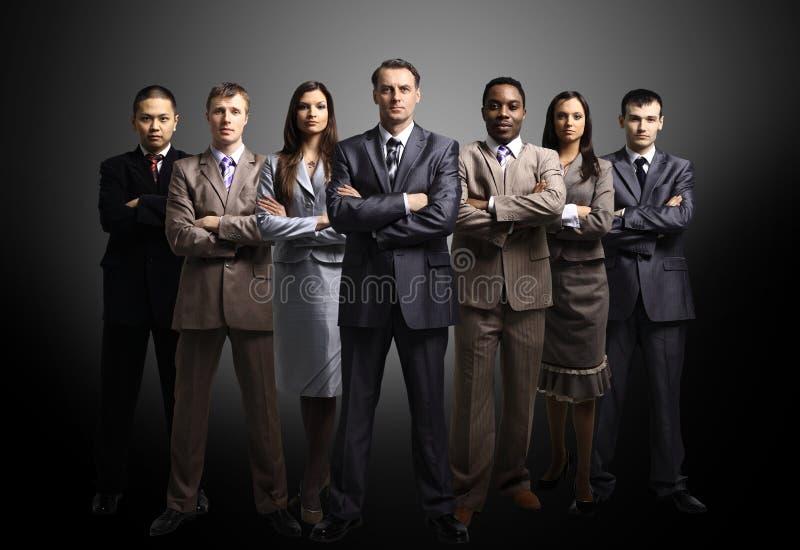 Personas del asunto formadas de hombres de negocios jovenes fotos de archivo libres de regalías