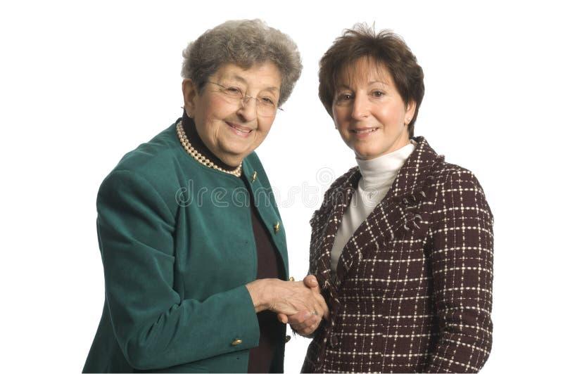 Personas del ejecutivo 'senior' fotografía de archivo libre de regalías