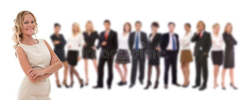 Personas del gran negocio imagenes de archivo