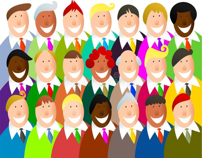 Personas diversas libre illustration
