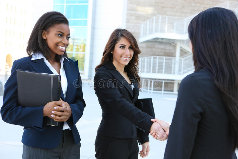 Personas diversas de la mujer de negocios foto de archivo