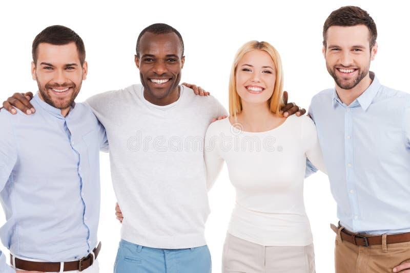 Personas felices del asunto fotografía de archivo libre de regalías