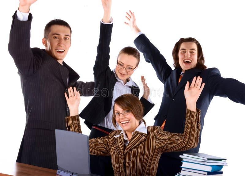 Personas felices jovenes del asunto imagenes de archivo