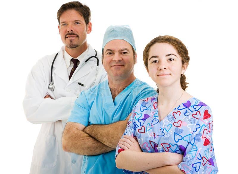 Personas médicas confidentes fotos de archivo libres de regalías