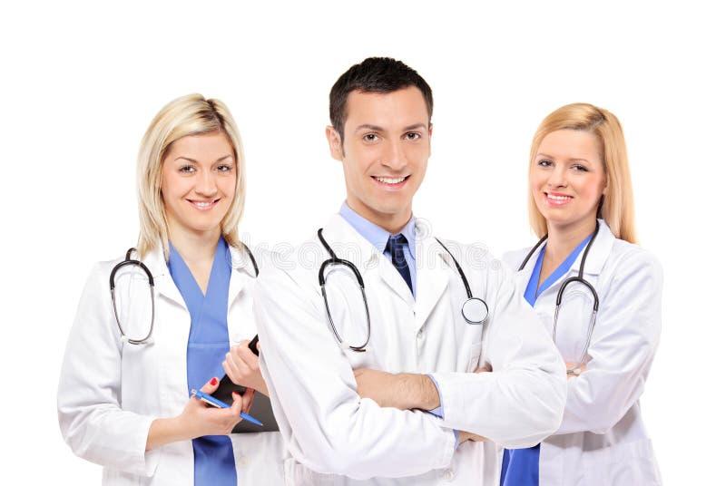 Personas médicas felices de doctores foto de archivo