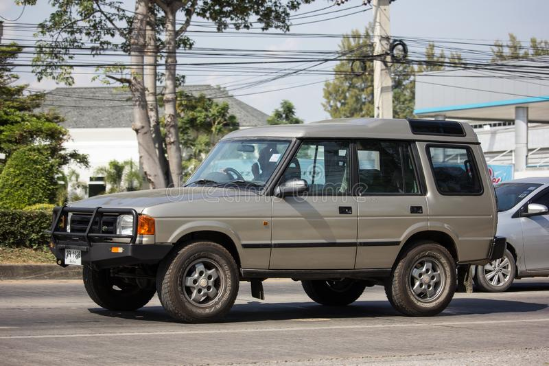 Personbil Land Rover Discovery arkivbild
