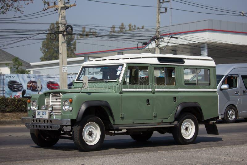 Personbil Land Rover Truck royaltyfri bild