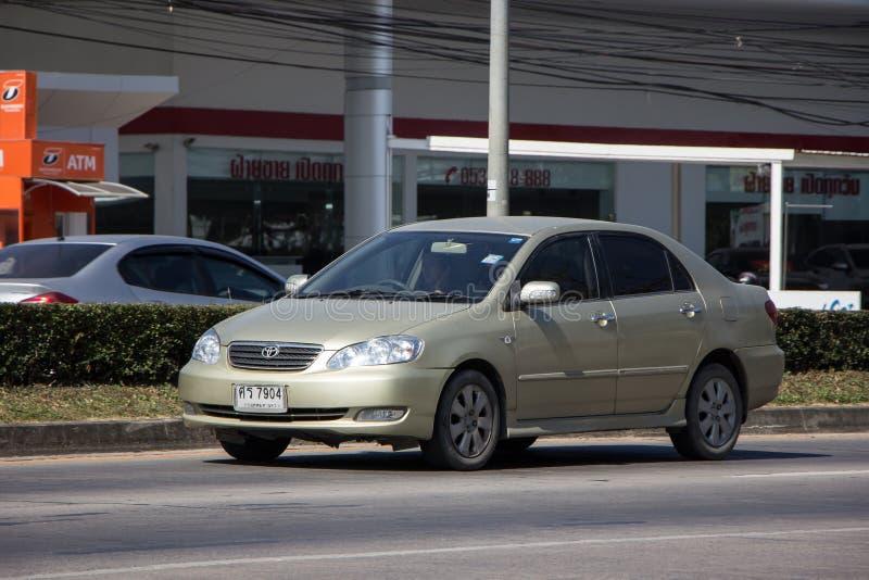 Personbil Toyota Corolla Altis arkivbilder