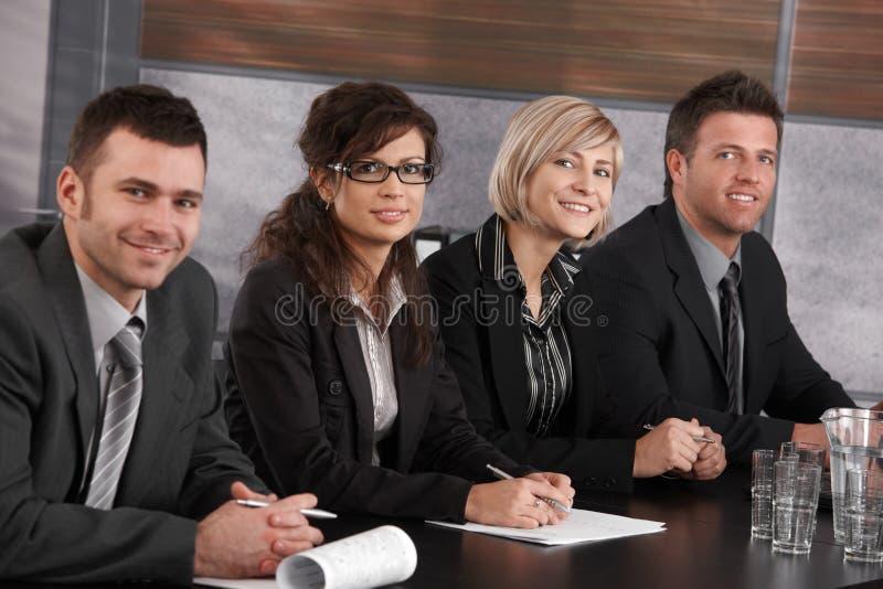 Gruppo di affari alla riunione immagine stock libera da diritti