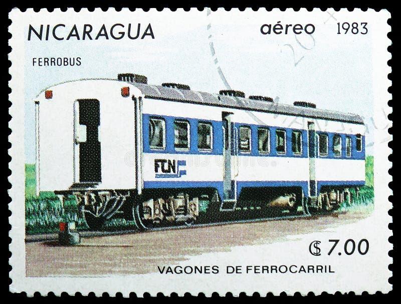 Personenkraftwagen, Railroadcars-serie, circa 1983 stockfotos
