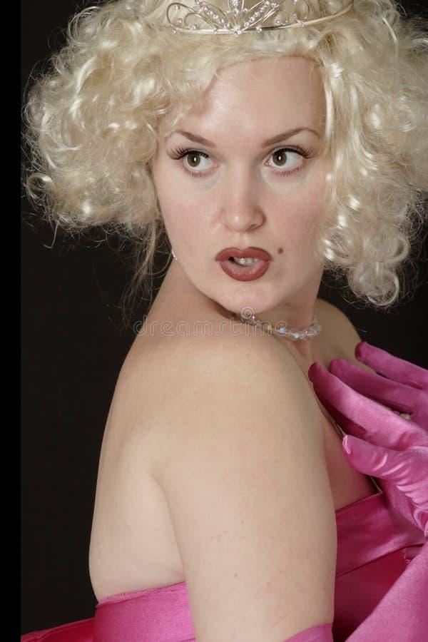 Personificador atractivo de Marilyn imágenes de archivo libres de regalías