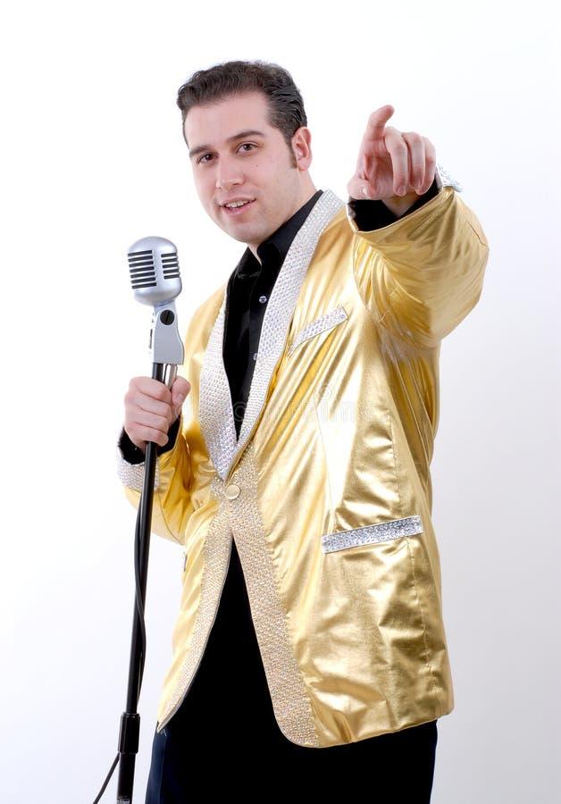 Personificador de Elvis foto de archivo libre de regalías