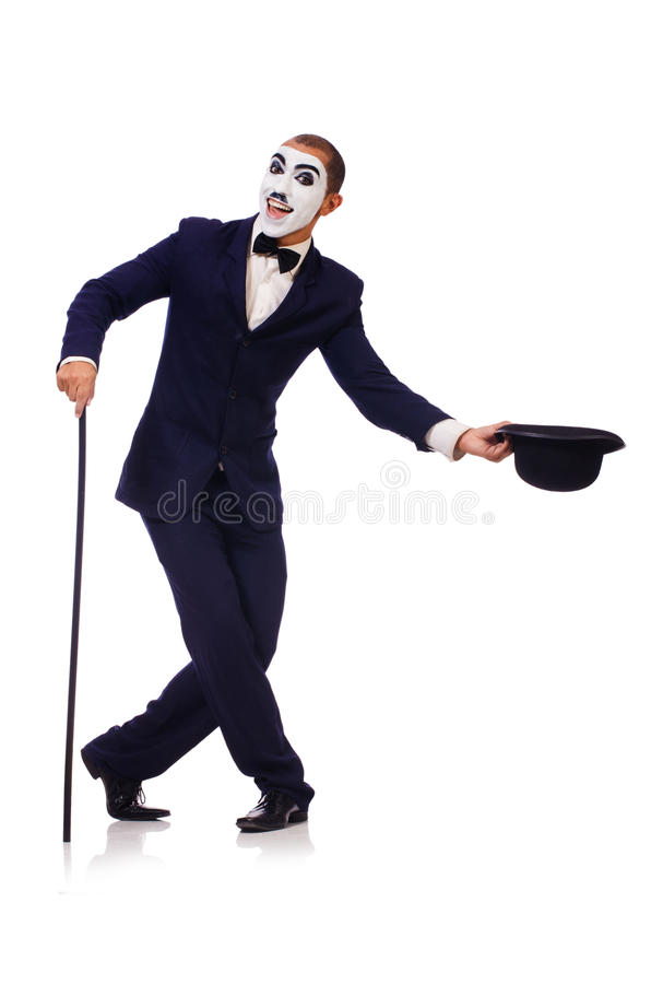 Download Personification Of Charlie Chaplin Stock Image - Image: 34868329