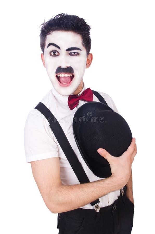 Personificazione Di Charlie Chaplin Fotografia Stock Libera da Diritti