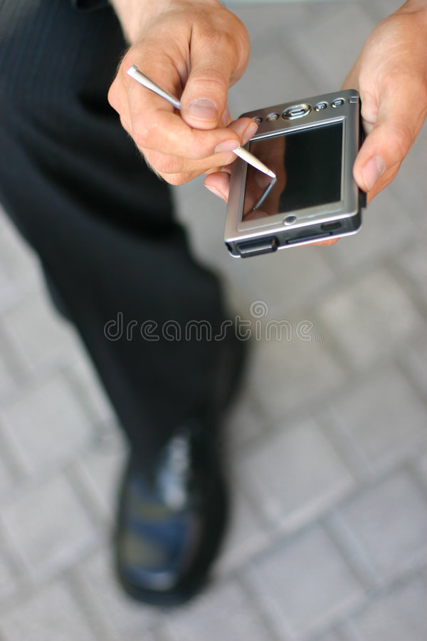 personlig dator royaltyfria foton