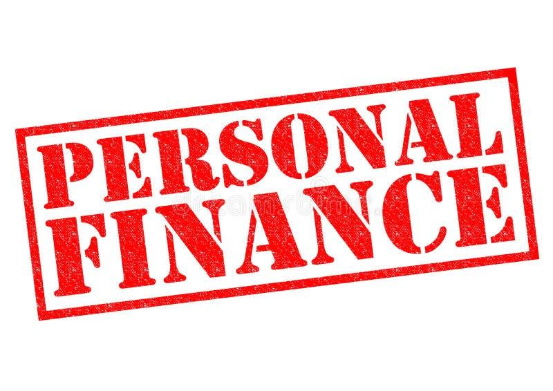 personlig finans vektor illustrationer