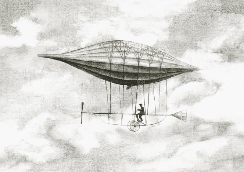 Personlig luftskepp arkivfoton