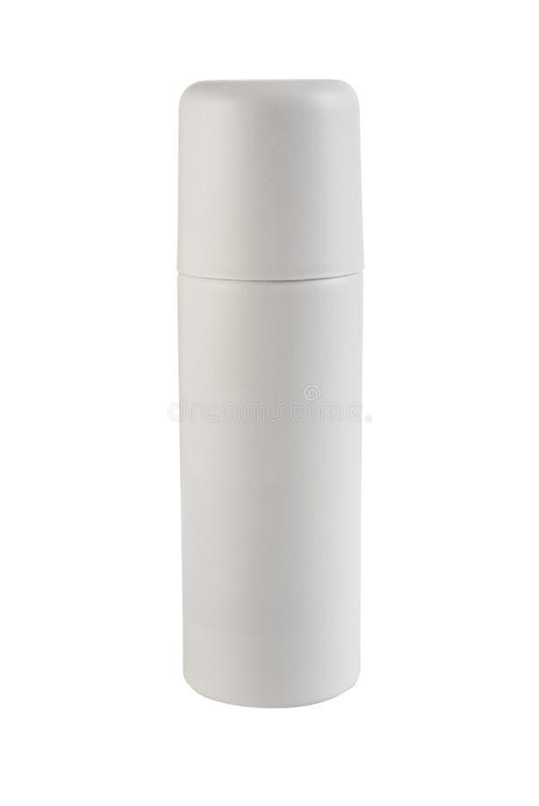 personlig mallwhite för deodorant arkivbild