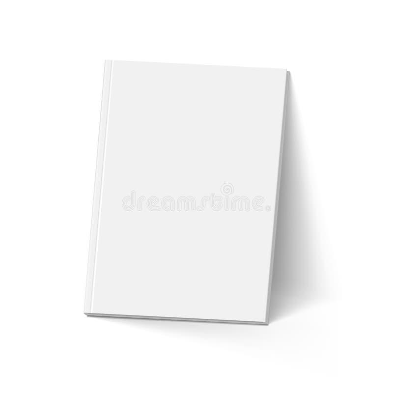 personlig röd white för bakgrundsbokdagbok vektor illustrationer