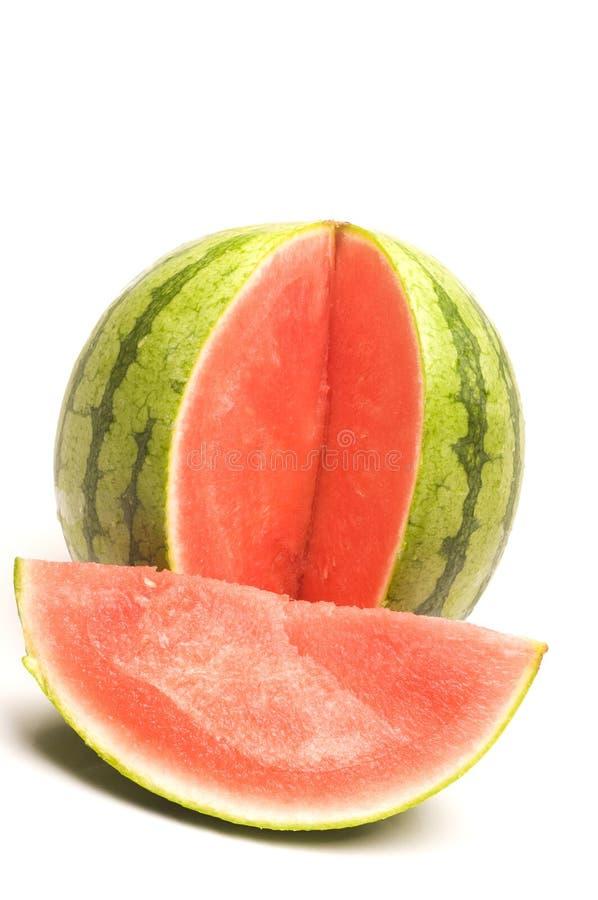 personlig seedless formatvattenmelon royaltyfri bild