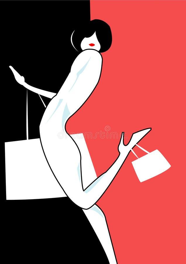 personlig shoppare royaltyfri foto