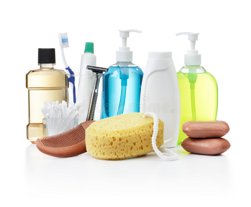 Personliga Produkter För Hygien Arkivfoto