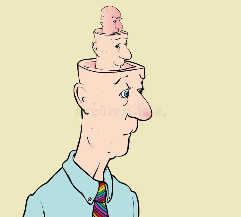 personlighet stock illustrationer