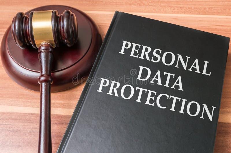 Personligt dataskydd och säkerhetsbegrepp arkivfoton