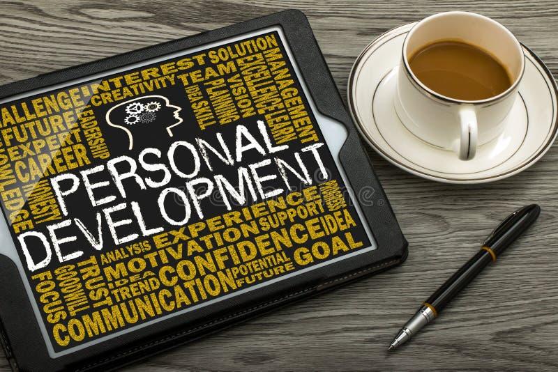 Personligt utvecklingsbegrepp royaltyfri foto