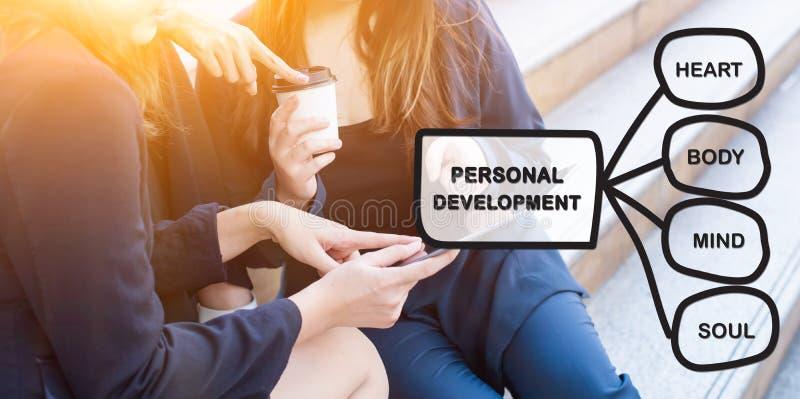 Personligt utvecklingsexpertisbegrepp royaltyfria foton