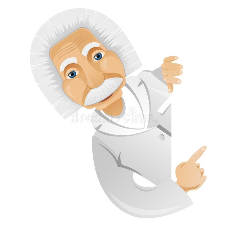 Einstein illustration de vecteur
