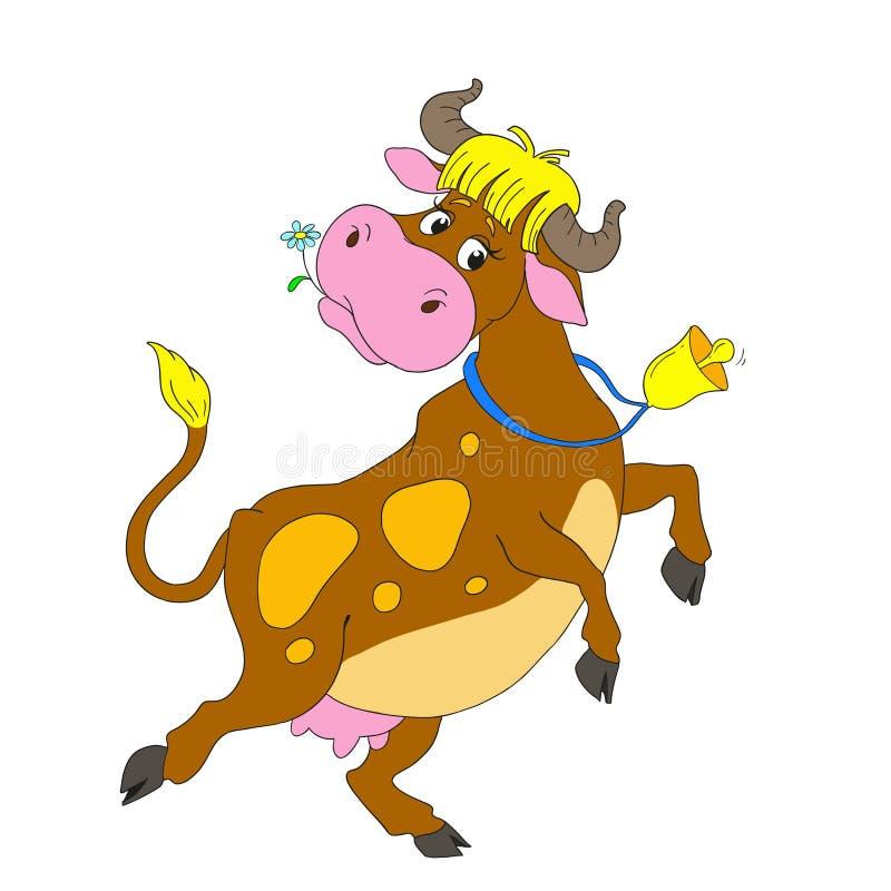 Personnages de dessin anim dansant la vache vache dr le - Dessin d une cloche ...