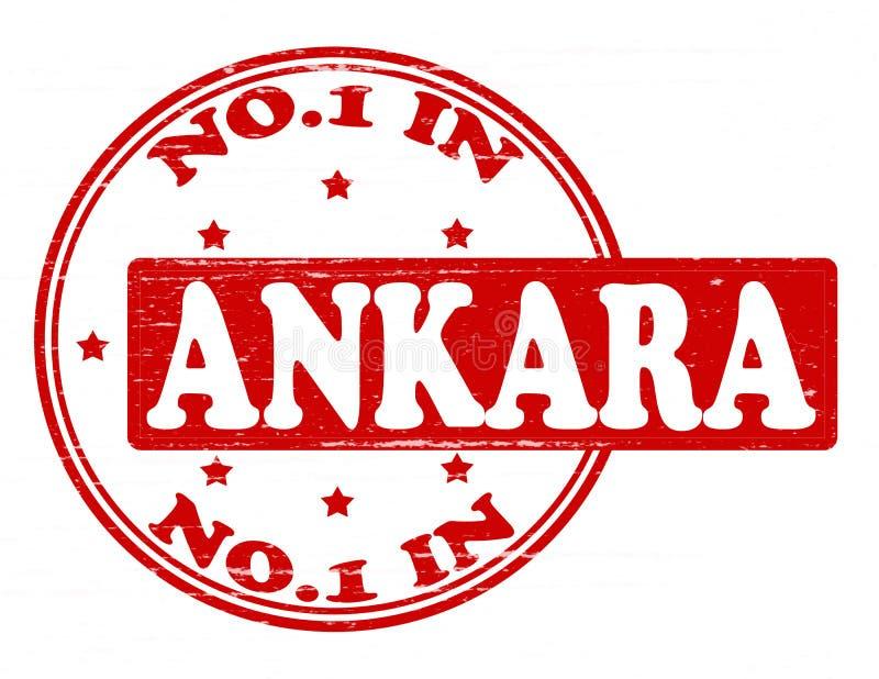 Personne à Ankara illustration stock