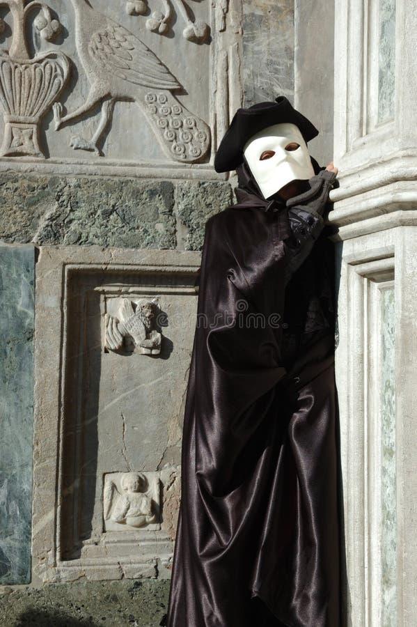 Personne dans le costume de Casanova, carnaval 2011 photos stock