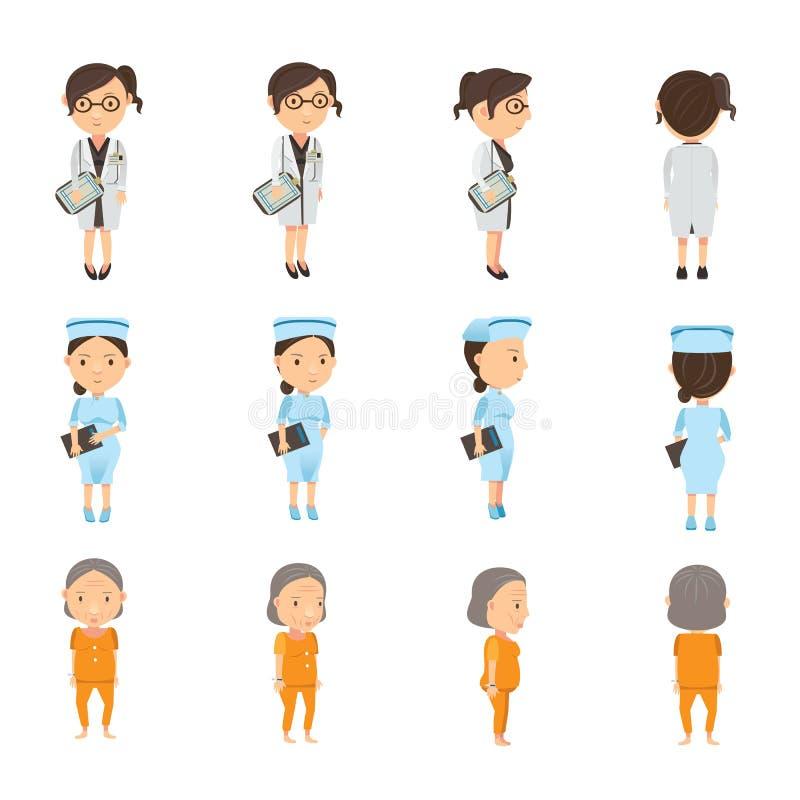 Personne médico ilustração do vetor