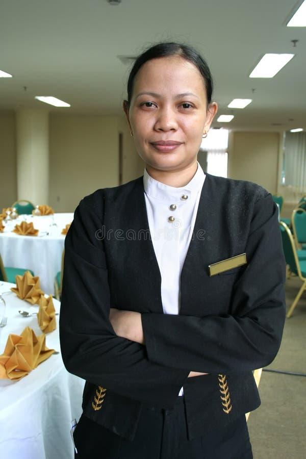 Personnel de banquet images libres de droits