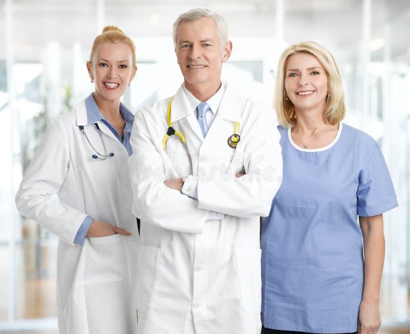 Personnel de Medica image libre de droits