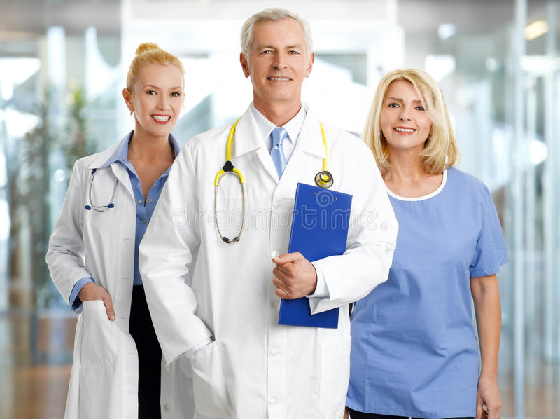 Personnel médical images stock