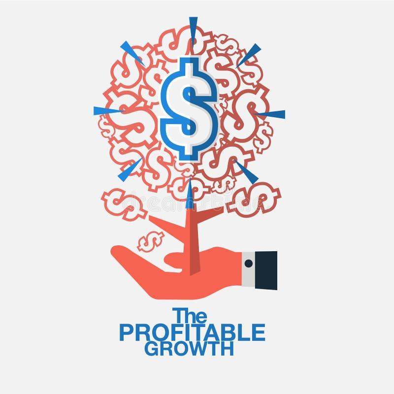 Personnel qui peut contribuer de manière significative à la croissance du busi illustration stock