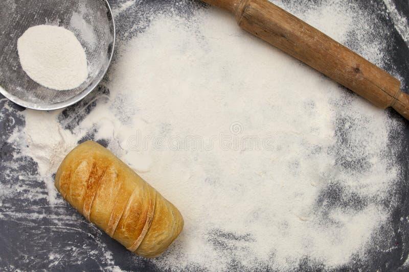 Personnels de pain et de boulangerie images stock