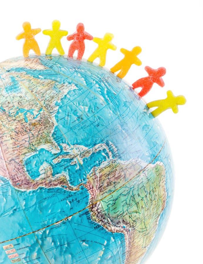 Concept de paix de personnes du monde images libres de droits