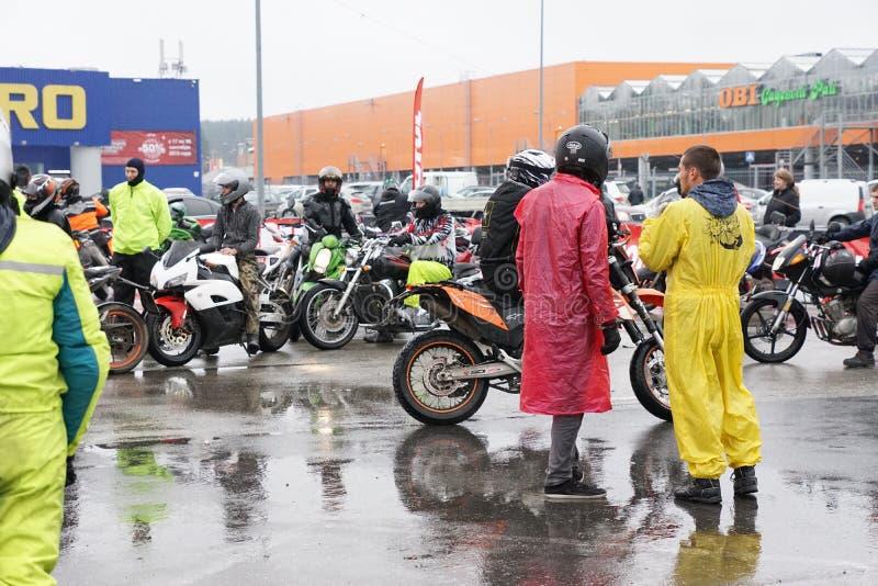 personnes d'été de moteur de vélo de motocyclette de moto images stock