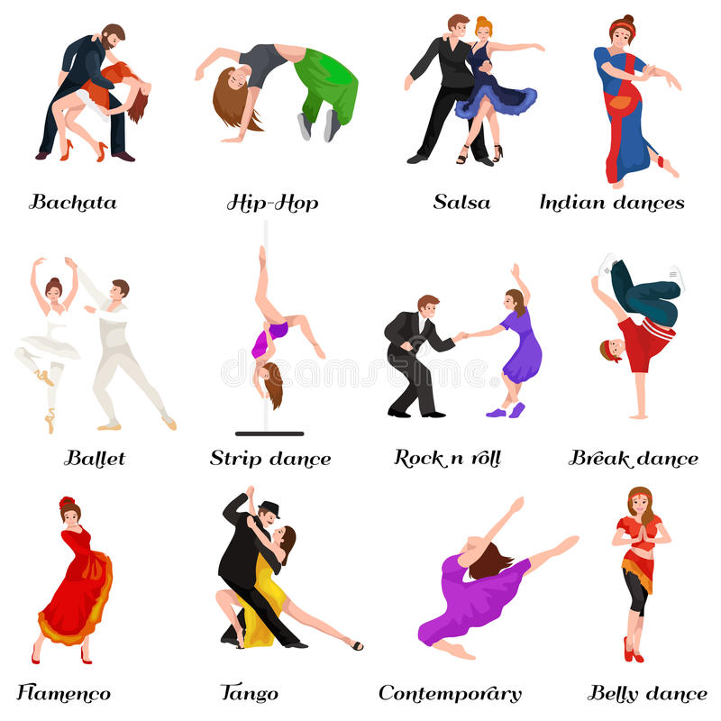 Personnes De Danse Danseuse Bachata Hiphop Salsa