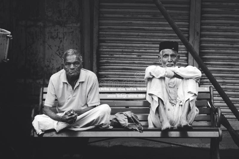 Personnes de jours de soirée d'Inde image libre de droits